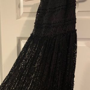 NWT lace Maxi Skirt